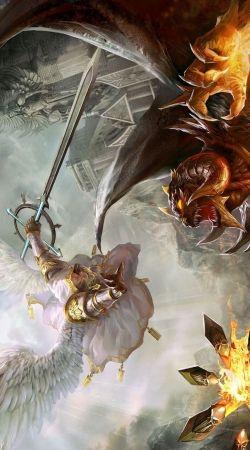 Saint Michael Archange versus Demon