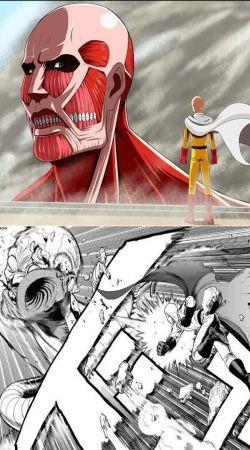 Saitama x Titan
