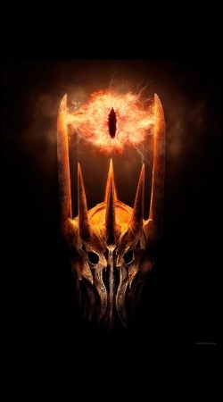 Sauron Eyes in Fire