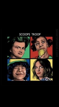 Scoops Troop Stranger Things