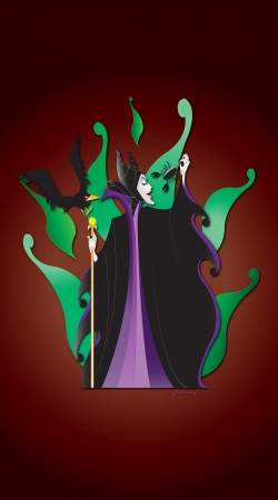 Artwork Scorpio - Maleficent do Samsung Galaxy ACE 2 i8160