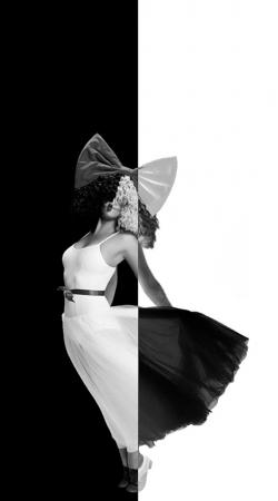 Sia Black And White