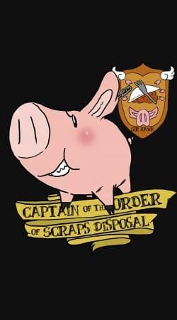 Sir Hawk Javali ou porco