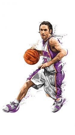 Steve Nash Basketball