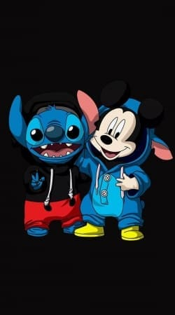 Stitch x The mouse