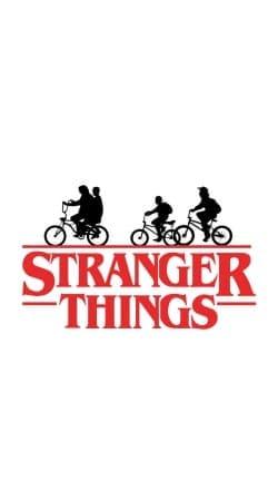 Stranger Things by bike