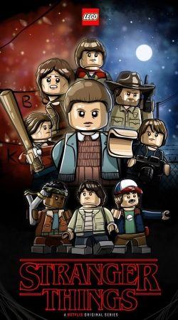Stranger Things Lego Art