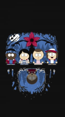 Stranger Things X South Park