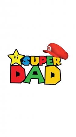 Super Dad Mario humour