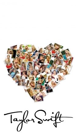 Taylor Swift Love Fan Collage signature