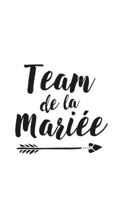 Team de la mariee