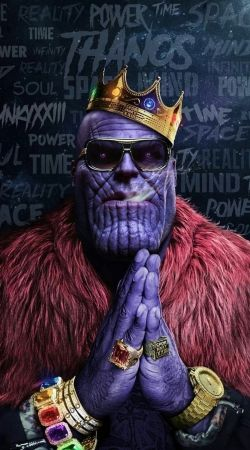 Thanos mashup Notorious BIG