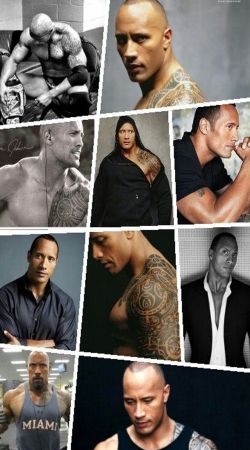 The Rock Collage