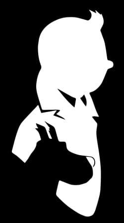 Tintin et Milou Abstract FanArt