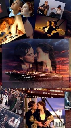 Titanic Fanart Collage