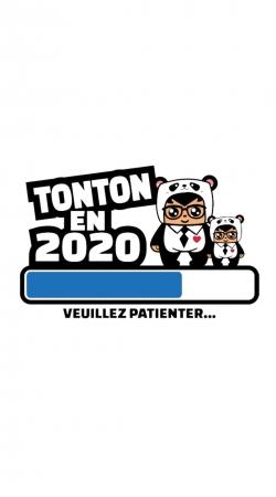 Tonton en 2020 Cadeau Annonce naissance