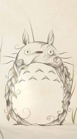Artwork Totoro do Samsung Galaxy ACE 2 i8160