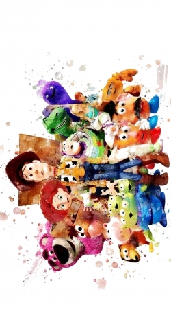 Toy Story Watercolor