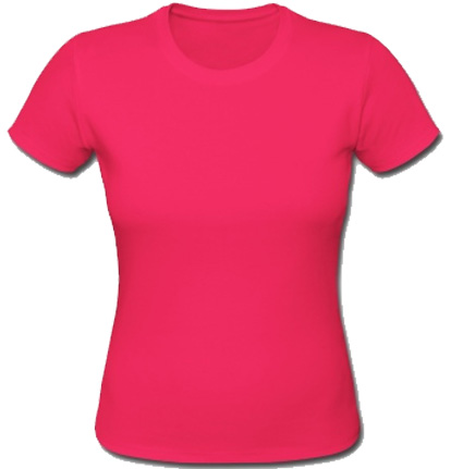 Women's Girlie Shirt Pink