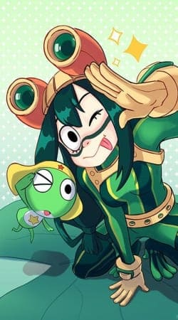 tsuyu  keroro Frog Family