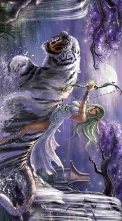 Tyrande Whisperwind World Of Warcraft Art