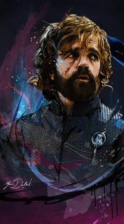 tyrion lannister painting fanart