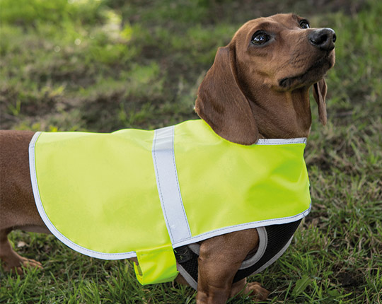 Reflective Dog Jacket - Yellow Vest