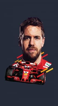 Vettel Formula One Driver