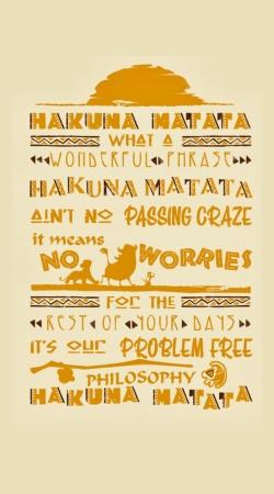 What means Hakuna Matata