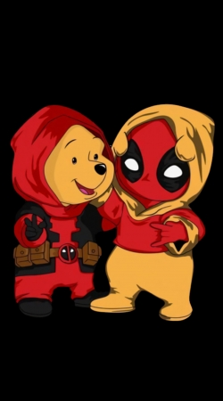 Winnnie the Pooh x Deadpool