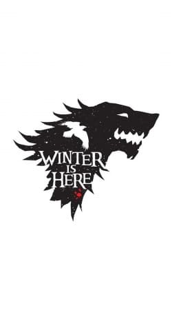 Winter is here Game Of Thrones Art Ending