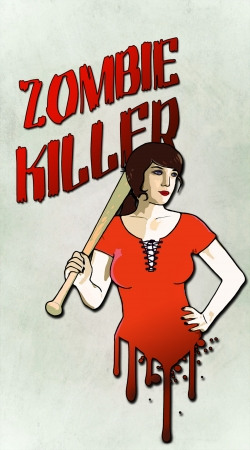 Artwork Zombie Killer do Samsung Galaxy ACE 2 i8160