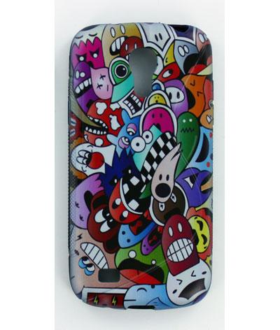 Silicone Samsung Galaxy S4 mini I9190 personnalisée