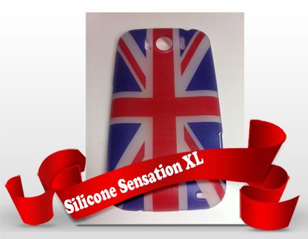 Silicone HTC Sensation XL personnalisée