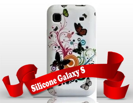 Silicone Samsung Galaxy S GT-I9000 personnalisée